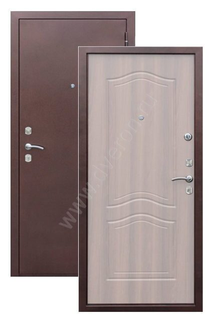 железная дверь на 4 квартиры