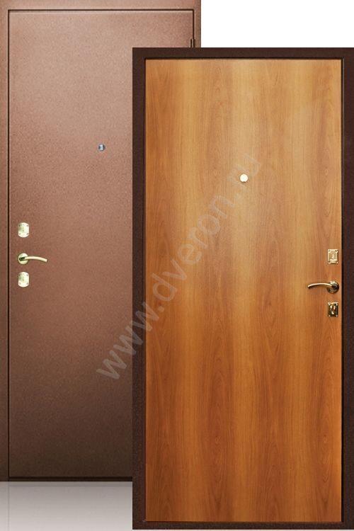 двери металлические эконом нестандартные