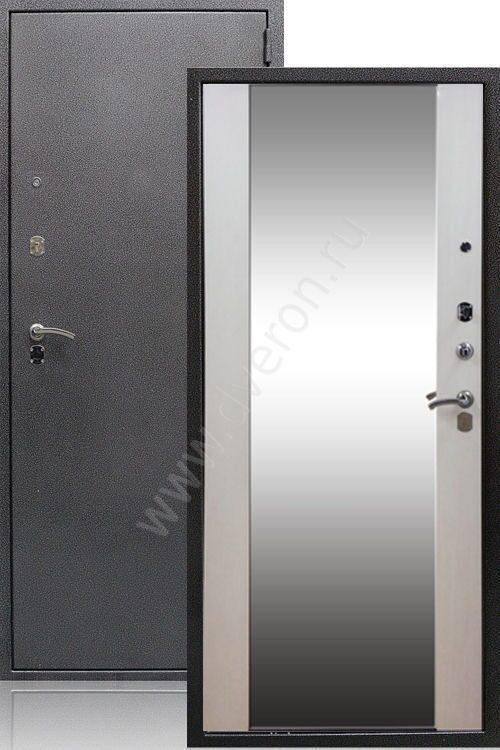 стиль металлическая дверь